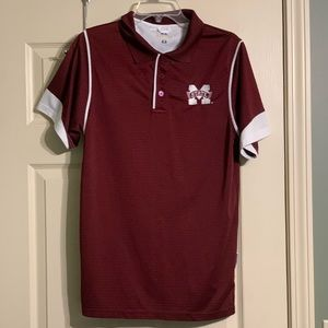 Russell Mississippi State Bulldogs Small Polo